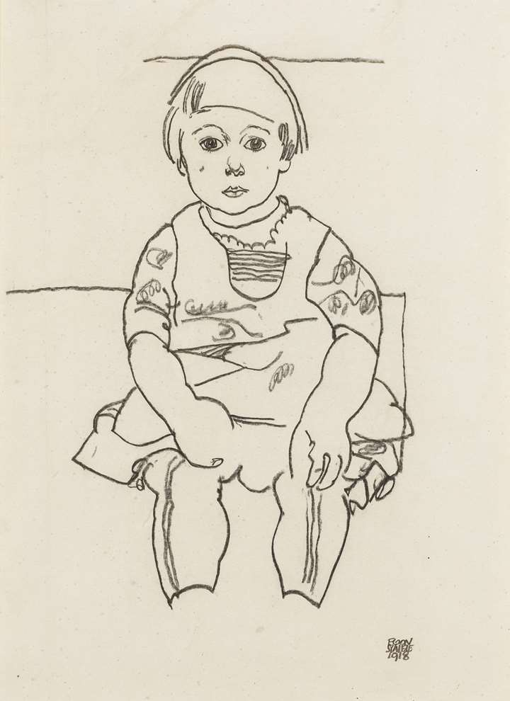 Portrait of a Child (Anton Peschka, Jr.)
