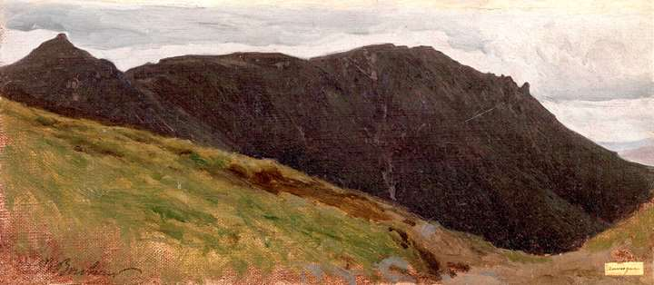 Mountain Landscape in the Auvergne