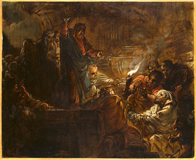 Jean-Baptiste DESHAYS - The Raising of Lazarus | MasterArt