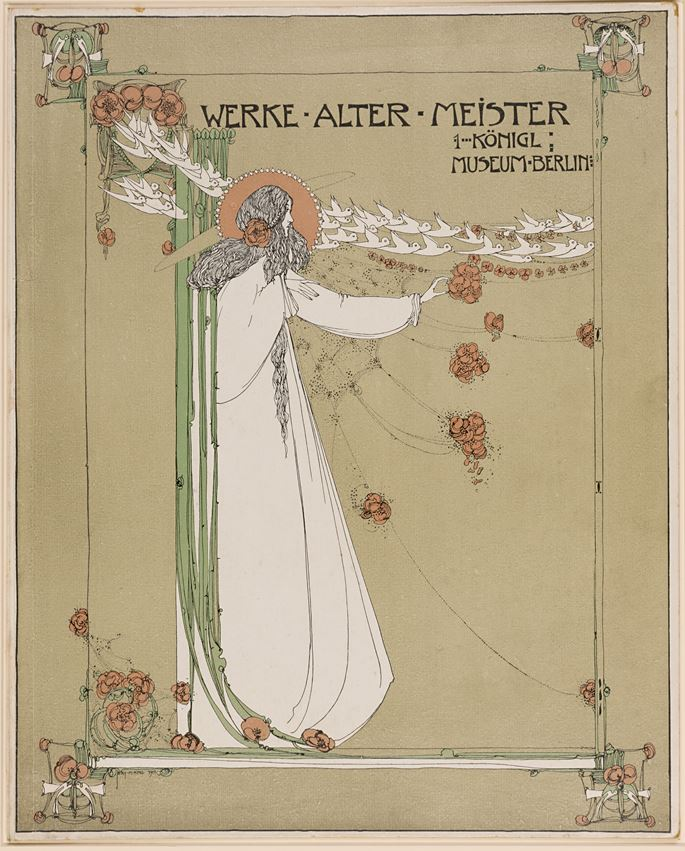 Jessie Marion King - Book Cover for Werke Alter Meister, Berlin | MasterArt