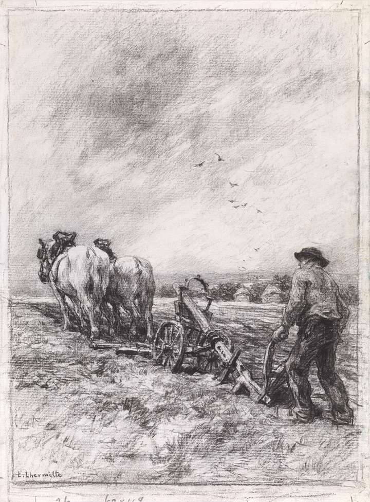 Ploughing (Le Labourage)