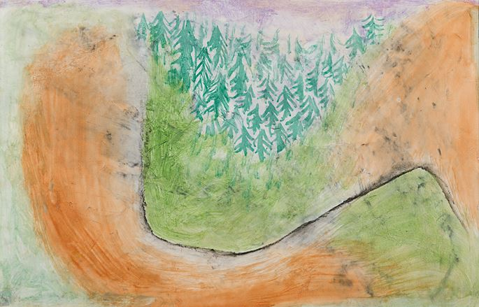 Paul Klee - Landscape in the Lower Alps (Voralpine Landschaft) | MasterArt