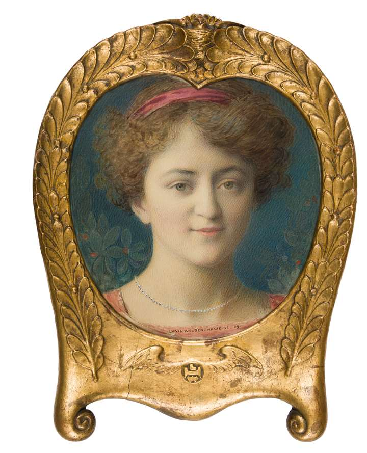 Portrait of the Actress Jeanne Silvain