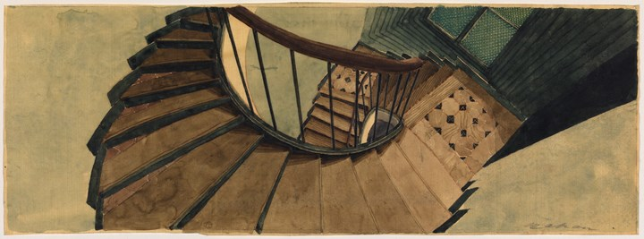 The Staircase at 54, rue de Seine, Paris