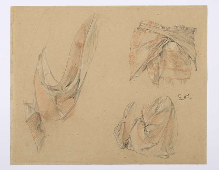 Three Drapery Studies