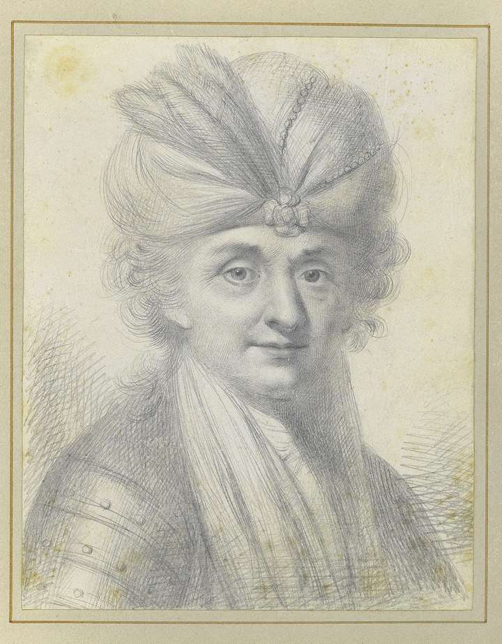 Study of a Man Wearing a Turban