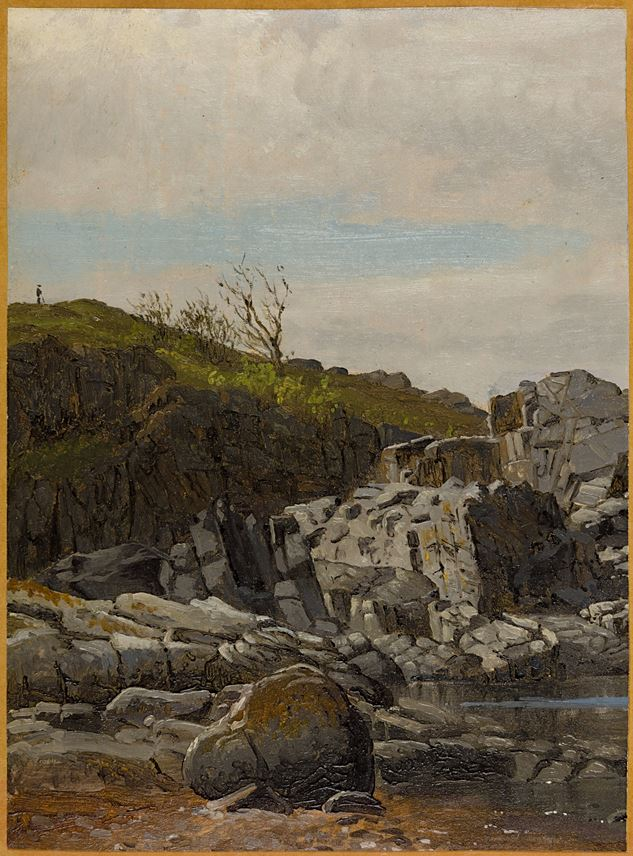 Viggo FAUERHOLDT - Randkløve Skår, near Gudhjem on the East Coast of Bornholm | MasterArt