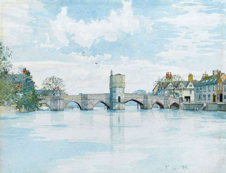 The Bridge at St. Ives, Huntingdonshire