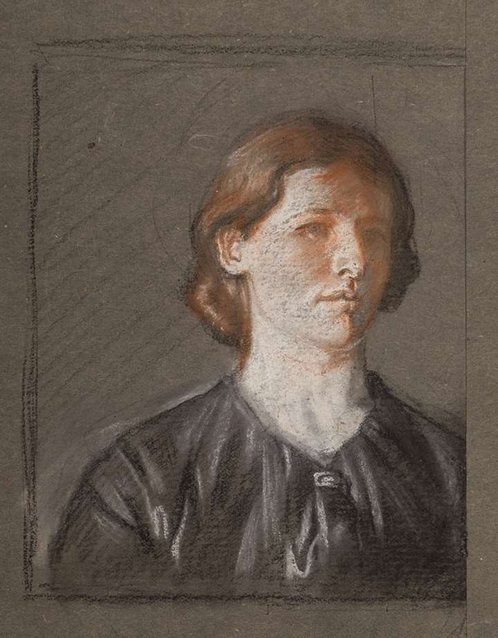 Portrait of Grace Knewstub Orpen