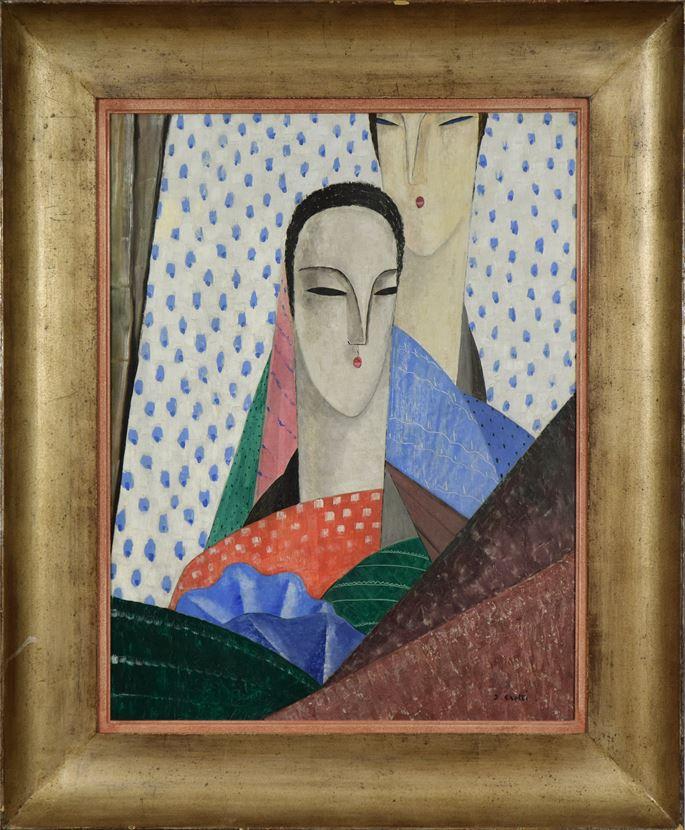 Jean Crotti - Femmes aux Longs Cous | MasterArt