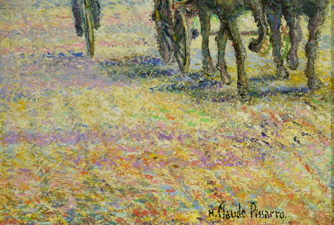 H. Claude Pissarro - Les Fiacres de l'Étoile | MasterArt