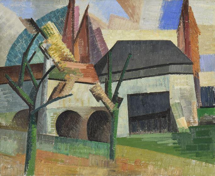 Auguste Herbin - Moulin à Creteil vu du Quai | MasterArt