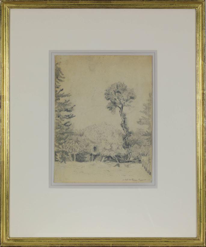 Félix Pissarro - Landscape with Trees | MasterArt