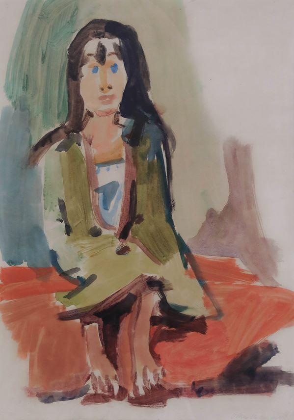 Oskar Kokoschka - Gypsy Girl | MasterArt