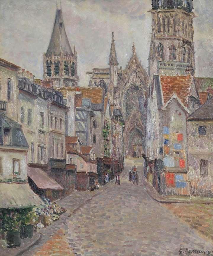 La Rue de l'Épicerie à Rouen