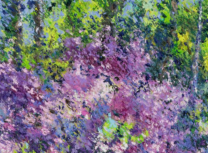 Lélia Pissarro, Figurative - Le Jardin de David et Lélia | MasterArt