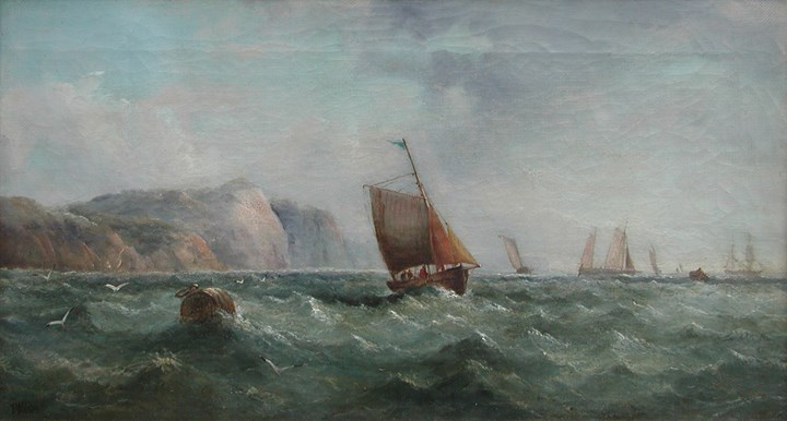 Boats Near Dover Coast