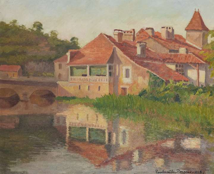 House on the river Dronne, Brantome
