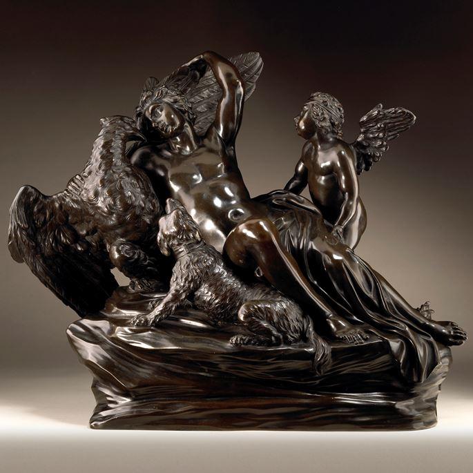 Massimiliano Soldani-Benzi - Ganymede and the Eagle | MasterArt