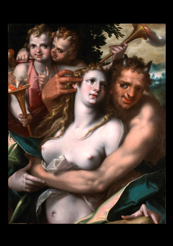 BARTHOLOMAEUS  SPRANGER - Jupiter and Antiope | MasterArt