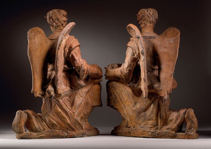 A Pair of Angels as Candle-bearers | MasterArt