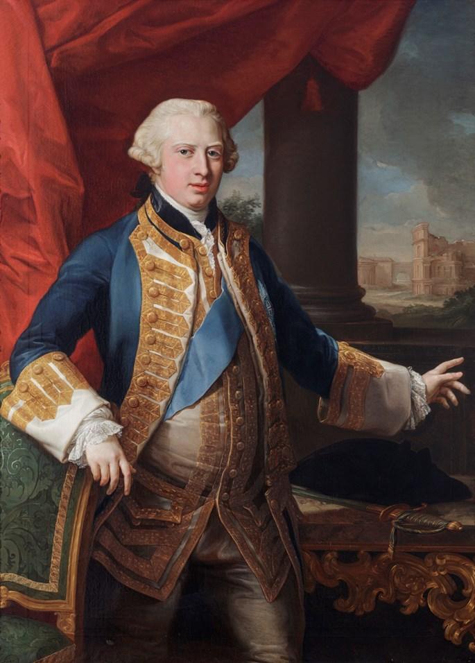 POMPEO GIROLAMO  BATONI - Portrait of Prince Edward Augustus, Duke of York and Albany (1739-1767) | MasterArt