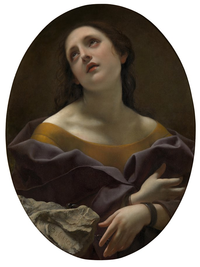 Carlo Dolci - Allegory of Patience | MasterArt