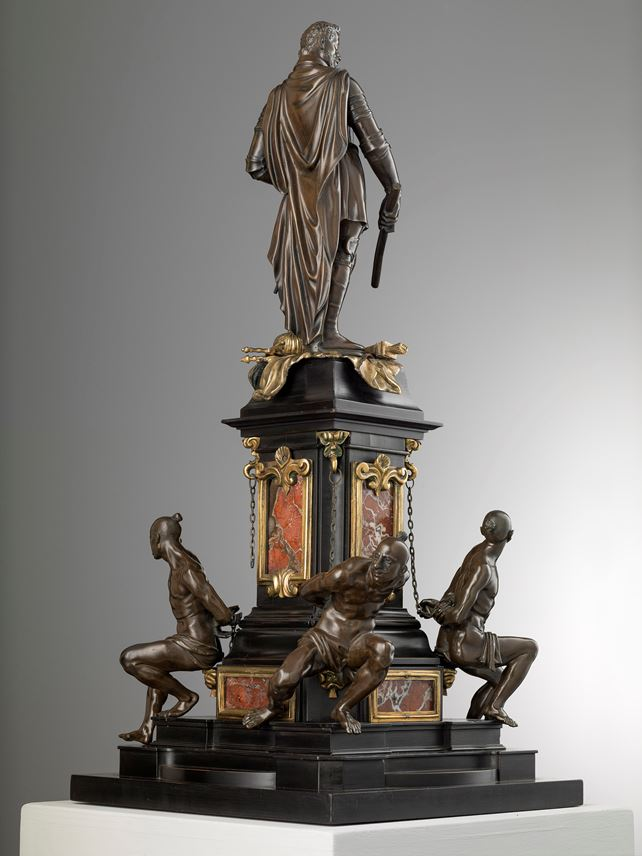 FERDINANDO TACCA - Monument to Ferdinando I,  After the monument in Livorno by Giovanni Bandini (Florence, 1539/40-1599) and Pietro Tacca (1577-1640) | MasterArt