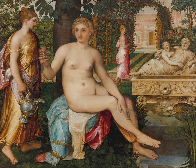 Frans Floris - Susanna and the Elders | MasterArt