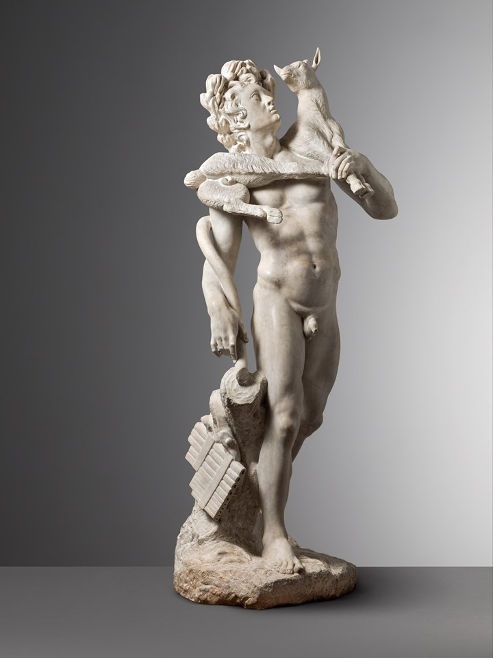 Faun with a Kid (after the Antique)