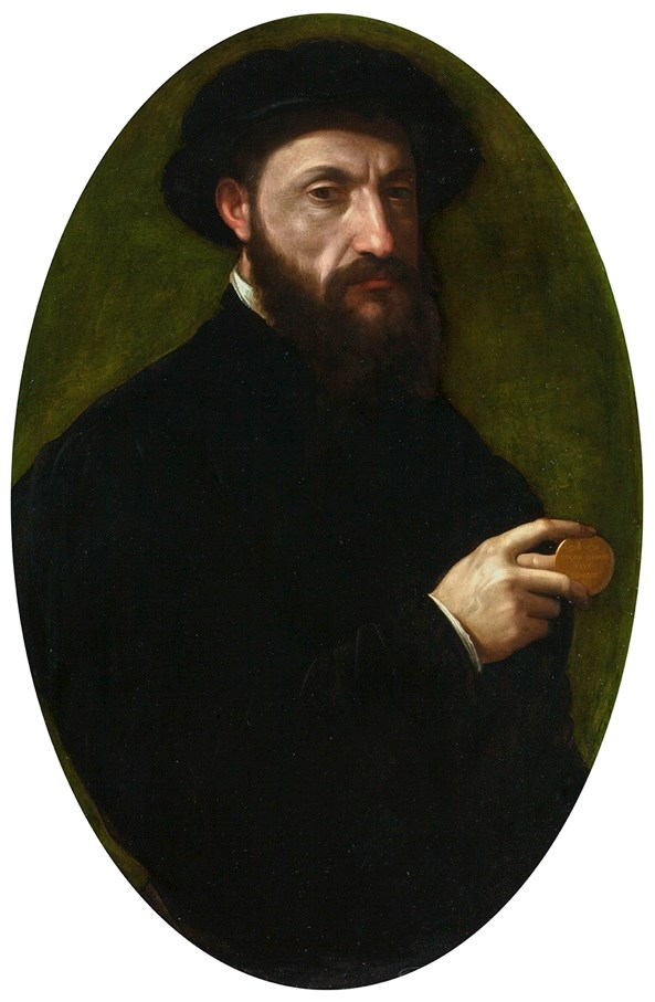 Francesco De' Rossi - Portrait of a Gentleman | MasterArt