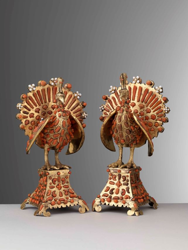 TRAPANI WORKSHOPS - Pair of Peacocks | MasterArt