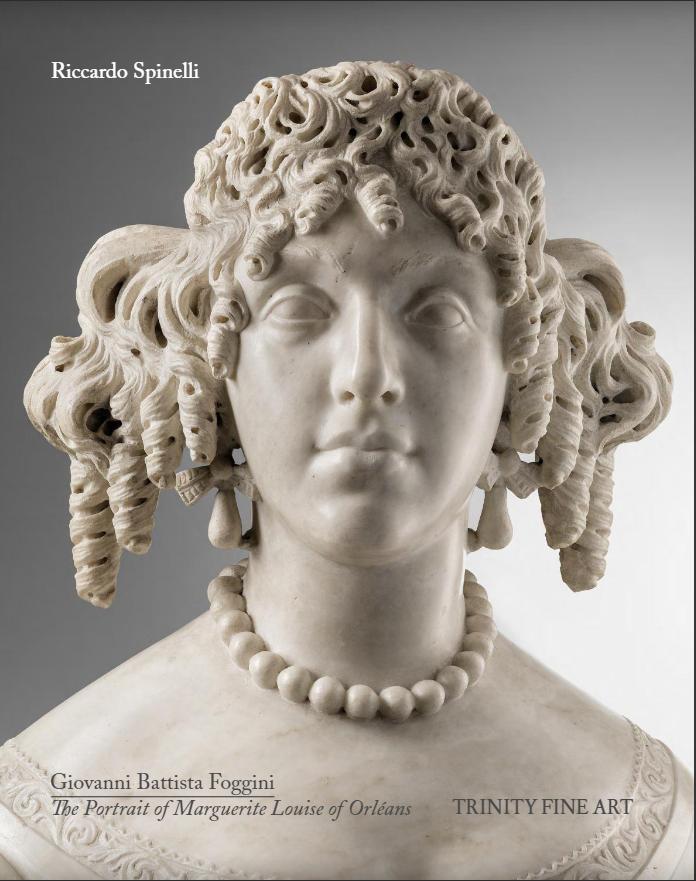 Giovanni Battista Foggini - The Portrait of Marguerite Louise of Orléans