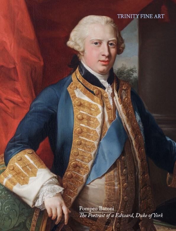 Pompeo Batoni - The Portrait of a Edward, Duke of York