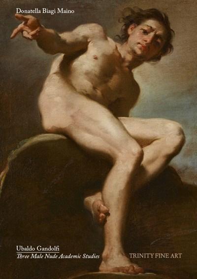 Ubaldo Gandolfi - Three Male Nude Academic Studies