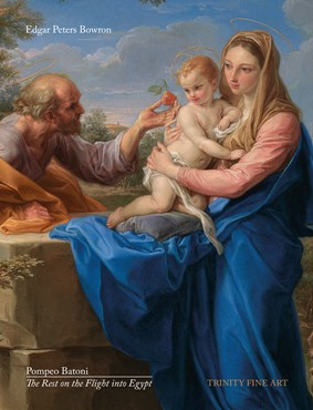 Pompeo Batoni  - The Rest on the Flight into Egypt