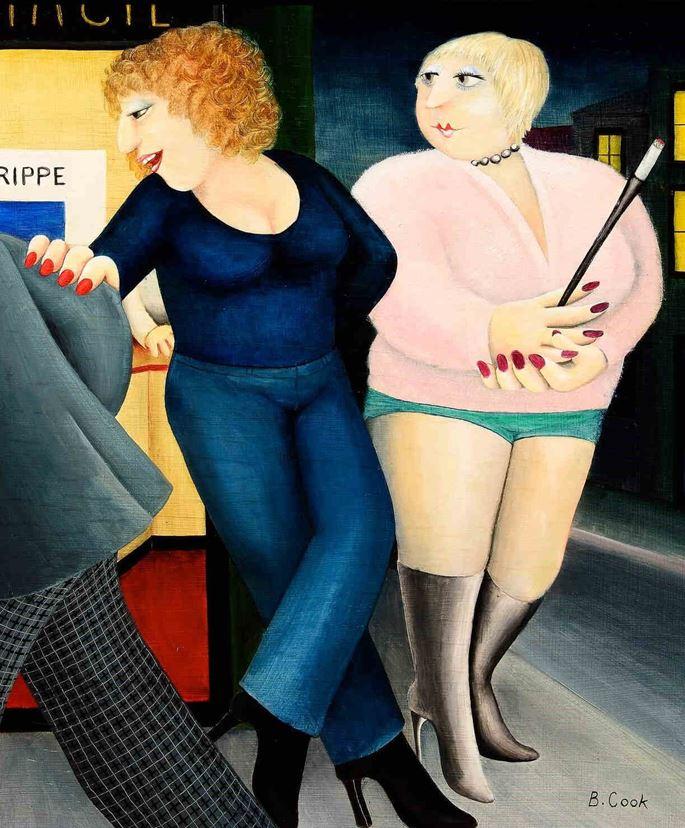 Beryl Cook - Ullo Chéri | MasterArt