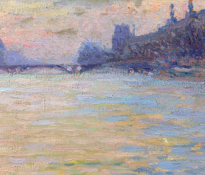 Jacques  Martin-Ferrières - Paris, La Seine | MasterArt