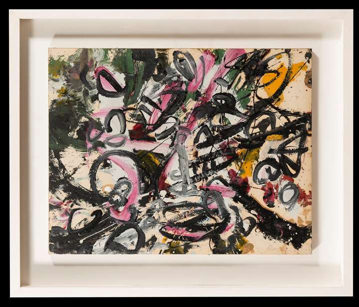 Self-Portrait in the Form of an Excited Flock of Birds - no. 9A, Opus ^^C