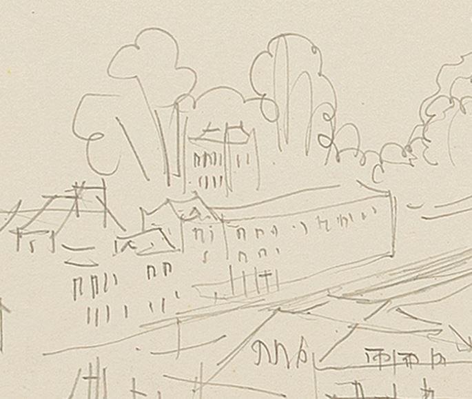 Jean Dufy - Ville Portuaire | MasterArt