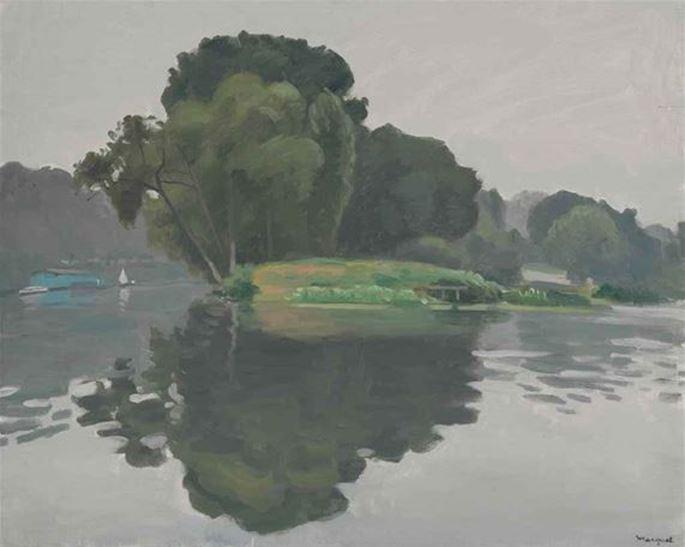 Albert Marquet - L'Ile, Poissy | MasterArt