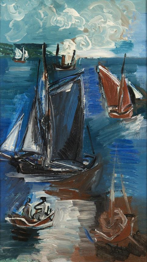 Jean Dufy - Voiliers | MasterArt