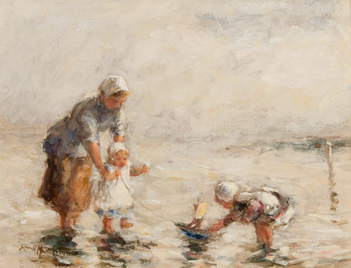 Robert Gemmell  Hutchison  - Summer by the Sea | MasterArt