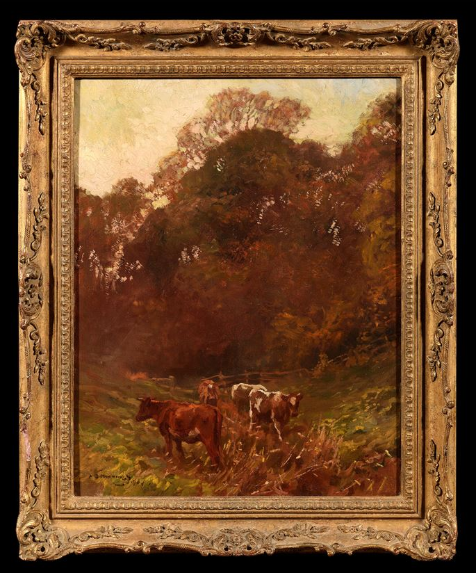 Sir Alfred J. Munnings - An Autumn Afternoon | MasterArt