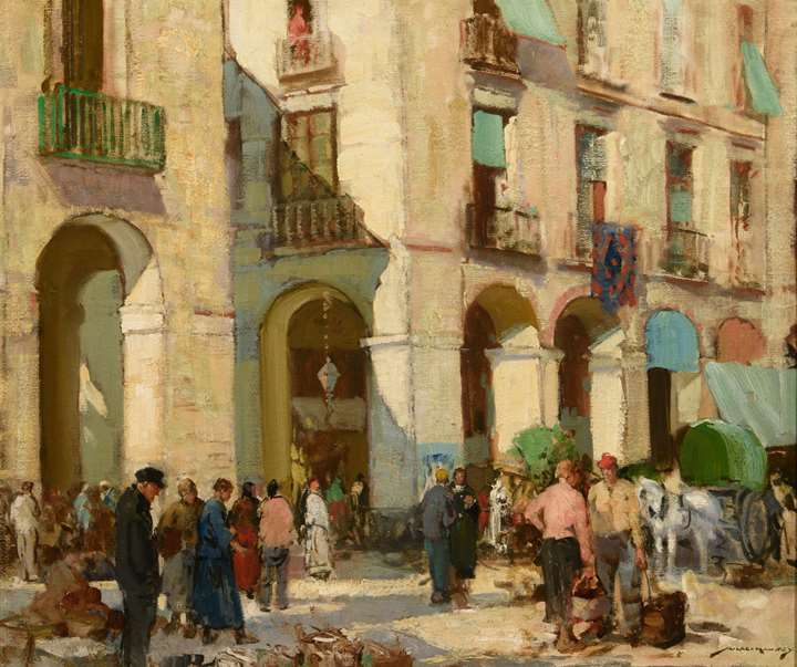 The Market Place, Dieppe