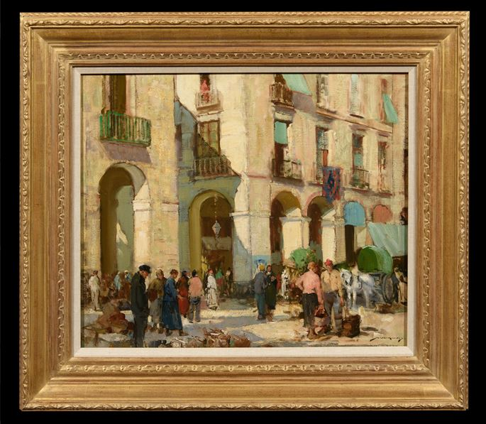 William Lee Hankey - The Market Place, Dieppe | MasterArt