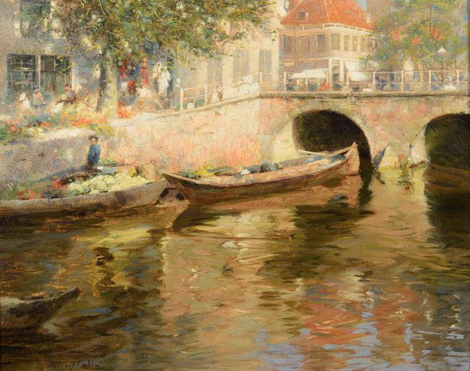 Frederick Hall - Springtime in Bruges | MasterArt