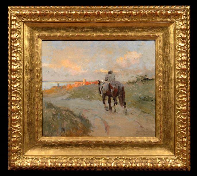 Frederick Hall - Man on Horseback | MasterArt