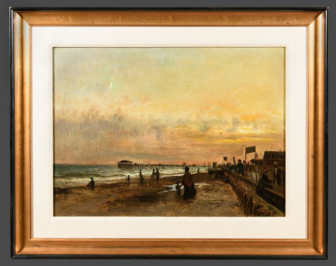 Olof Hermelin - Figures on the Boardwalk – Cape May, New Jersey | MasterArt
