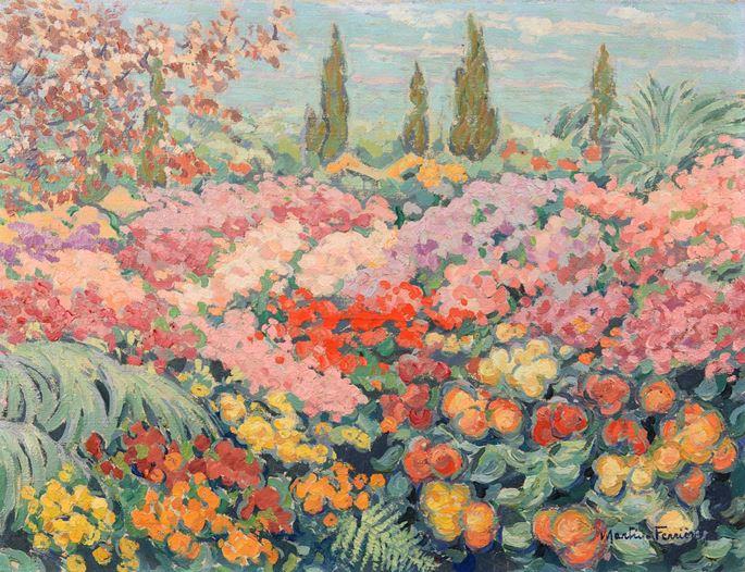 Jacques  Martin-Ferrières - Fleur en Foule   MasterArt